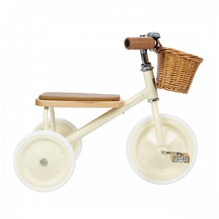 Tricycle vintage crème