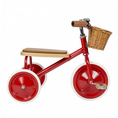 Tricycle vintage rouge