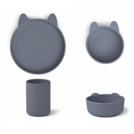 Set repas Lapin silicone...