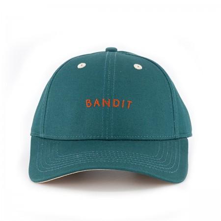 """Casquette """"Bandit""""  vert sapin"""