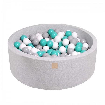 Piscine à Balles gris chiné...