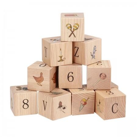 Jeux de Cubes en bois