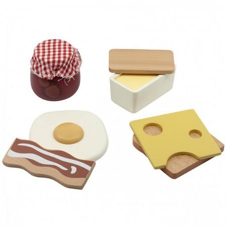 Set Petit Déjeuner en bois