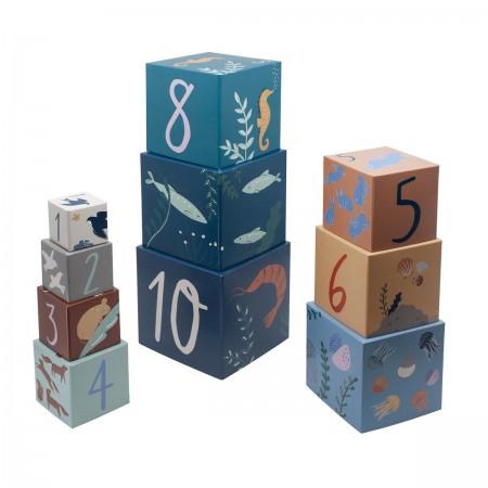 """Cubes à empiler """"Seven Seas"""""""