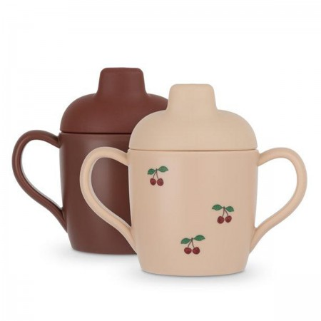 "Pack de 2 tasses ""Cherry"""