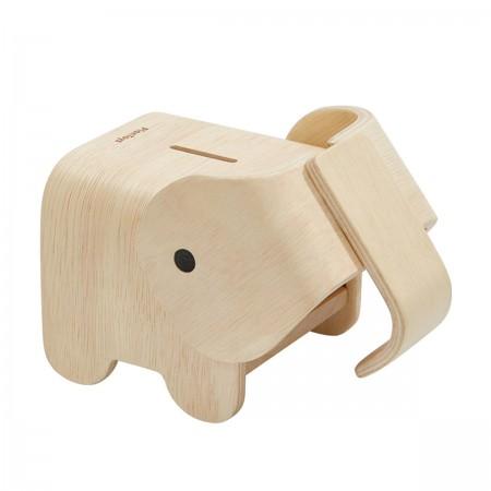 Tirelire Eléphant en bois