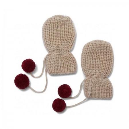 Moufles bébé en laine...