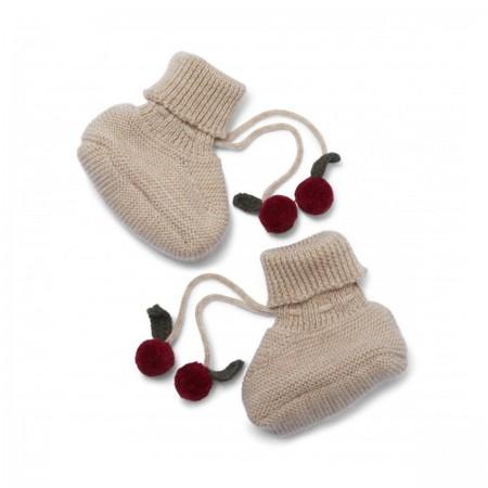 Chaussons bébé en laine...