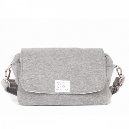 Sac à langer mini gris chiné