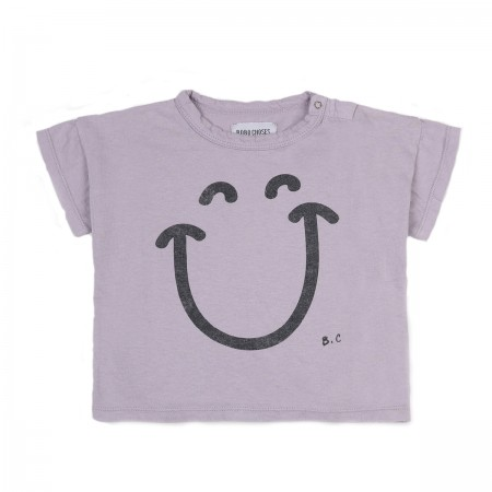 "Tee-shirt ""Big Smile"" Lilas"