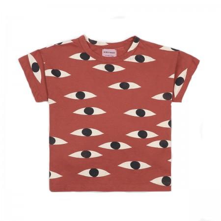 "Tee-shirt ""Eyes"" coton bio"