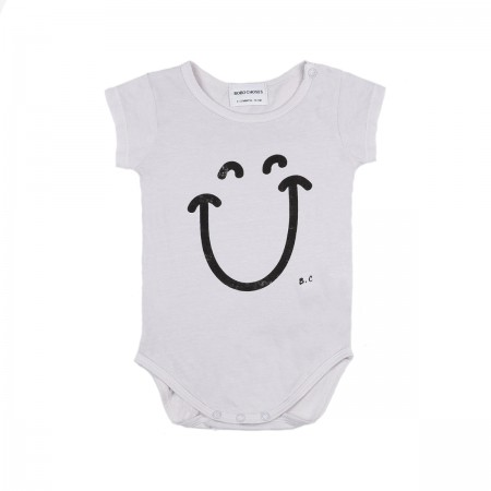 "Body ""Big Smile"" gris"