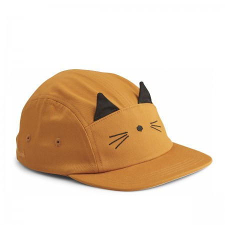 "Casquette ""Rory"" Chat moutarde"