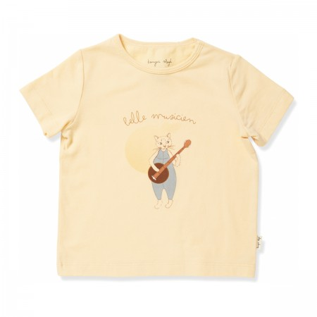 "Tee-shirt ""Famo"" abricot"