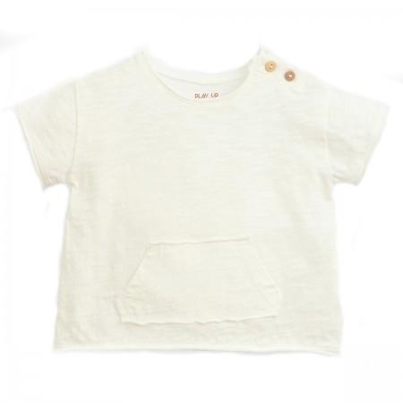 Tee-shirt coton flammé bio...