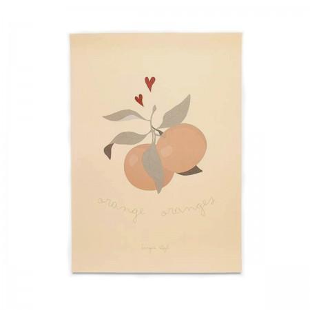 """Poster """"Orange Oranges"""""""