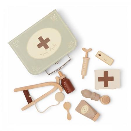 Mallette de docteur en bois