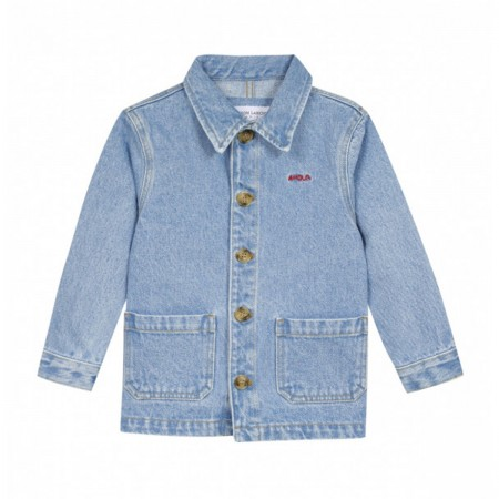 "Veste work denim ""Amour"""