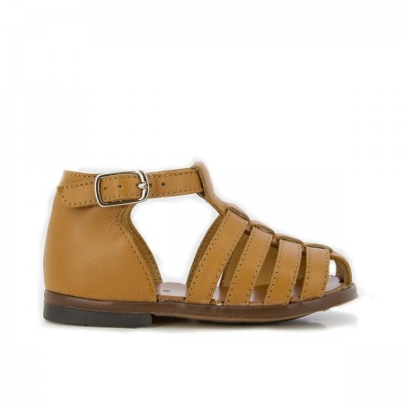 "Sandales ""Zeus Gorgo"" cuir..."