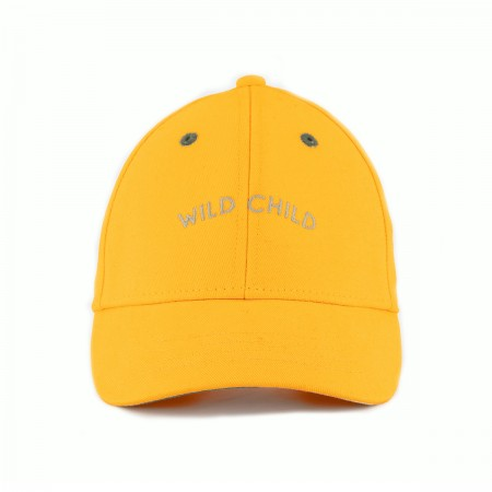 "Casquette ""Wild Child"" Jaune"