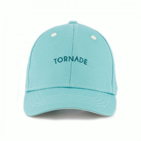"Casquette ""Tornade"" Turquoise"